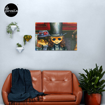 Movie inspired collection - Dracuzard - Count Dracula Metal Print