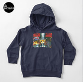 Movie inspired collection - Dracuzard - Count Dracula Toddler Pullover Hoodie in Dark Blue