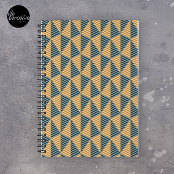 Egypt day and night - mysterious pyramids Spiral Notebook