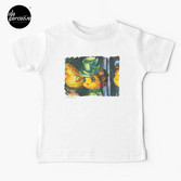 Movie inspired collection - Dracuzard - Mina Harker Baby T-Shirt in White