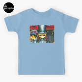 Movie inspired collection - Dracuzard - Count Dracula Baby T-Shirt in light blue