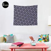 WE LOVE M.C. ESCHER style - Axolotl symmetrical pattern Tapestry