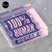 100% HUMAN - Distortion of Humanity Acrylic Block