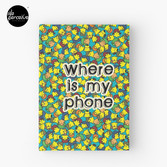 Welcome to SOCIAL MEDIA ERA - Where is my PHONE? Hardcover Journal