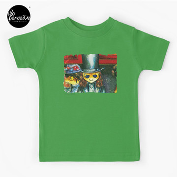 Movie inspired collection - Dracuzard - Count Dracula Baby T-Shirt in green