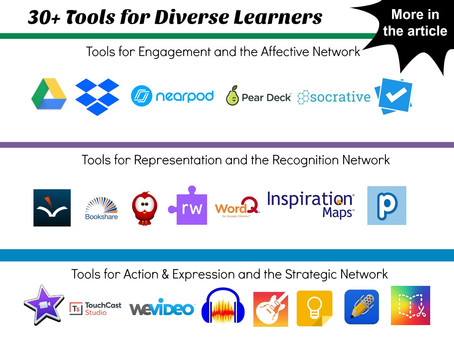 30+ Tools for Diverse Learners