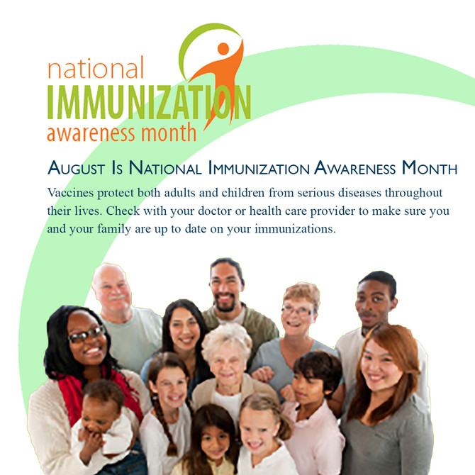 Recognizing National Immunization Awareness Month (NIAM)