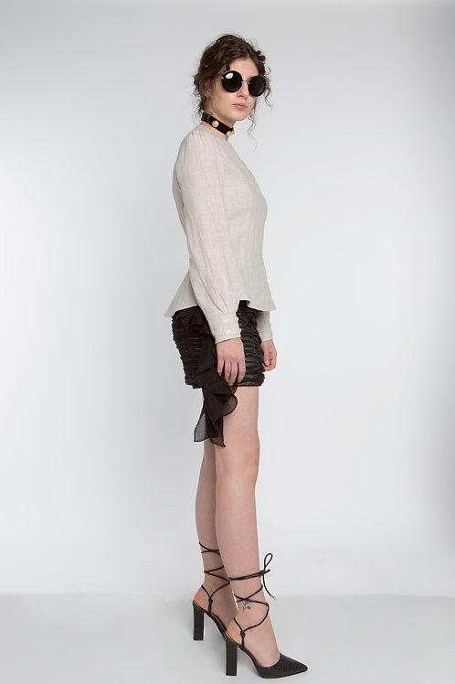 Sandalwood Blouse Linen / 0305