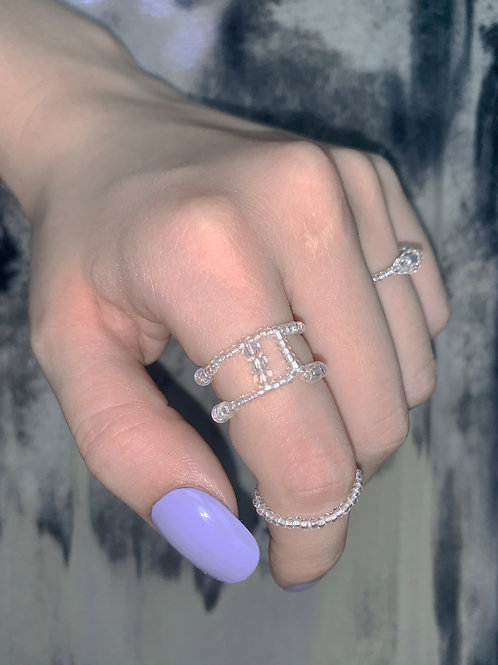 PS double slim ring SET