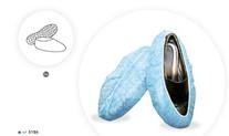 Cobre Sapatos em Polipropileno Azul, Anti Derrapante