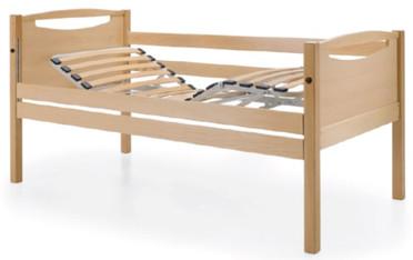Cama fixa manual em madeira