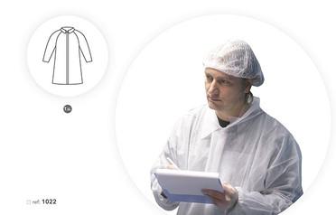 Vestido em SMS Branco, Com Velcro
