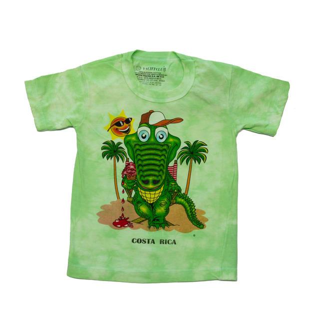 Camiseta Niño Verde