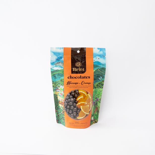 Chocolate Britt Naranja