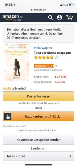 """Bestseller """"Tanz der Sonne entgegen"""""""