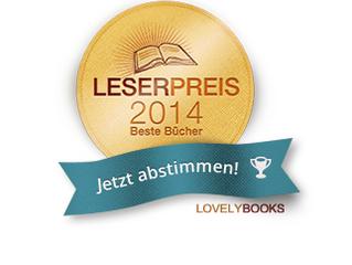 Bei Lovelybooks auf der Shortlist für den Leserpreis 2014 nominiert...