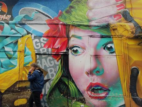 Graffiti Art is not a crime