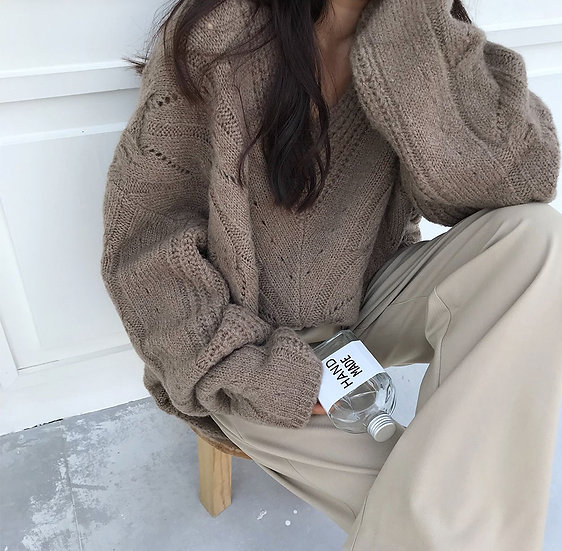 Snow sweater (Brown)