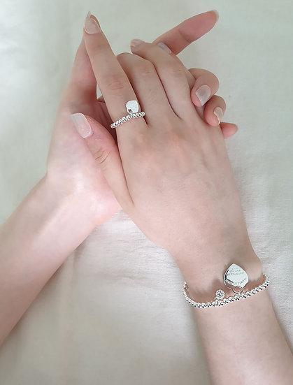 Tiffany ring+bracelet (set)