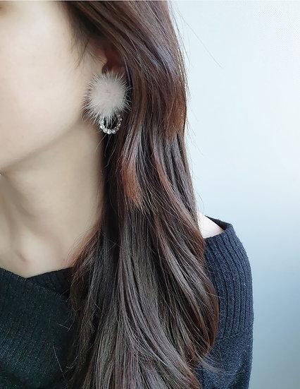 Snowy earrings