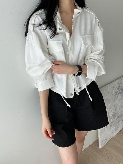Dawn linen jacket