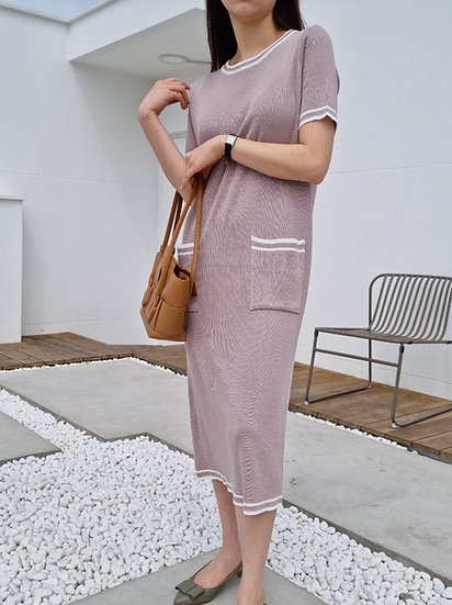 June knit dress
