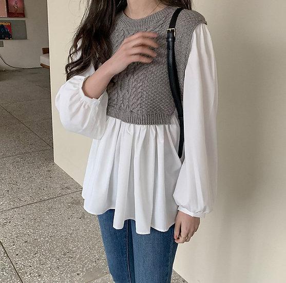 Lauren knit blouse