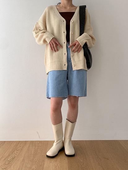 Oversized cardigan