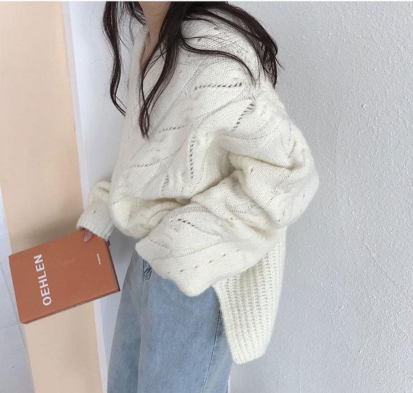 Snow sweater (White)