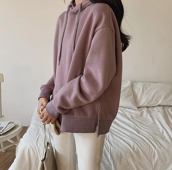 Daily hoodie (Violet)