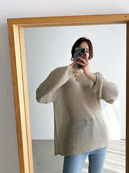 Cool knit top