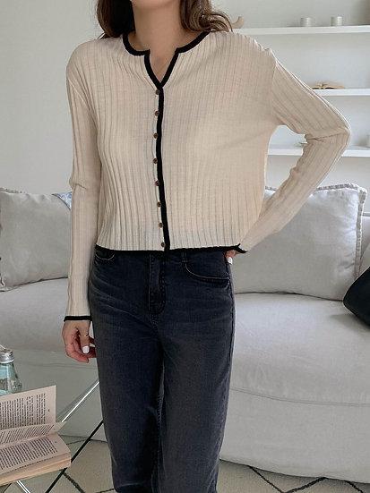 Fall knit cardigan
