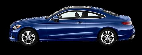 Mercedes Benz C220 Coupe car hire rental london