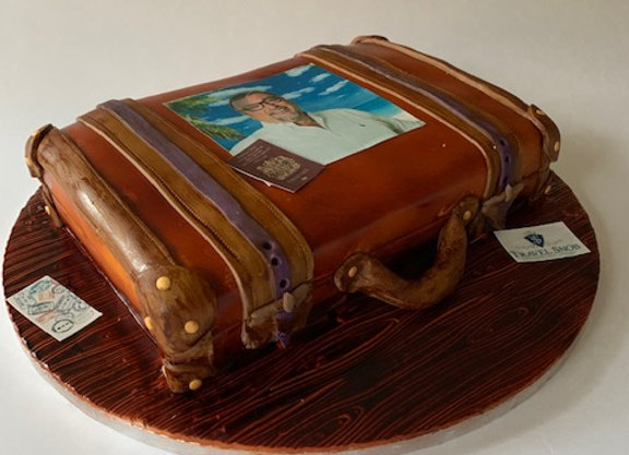 Special Occasion Cake - Suitcase