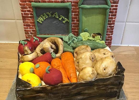 Theme Cake - Fruit & Veg