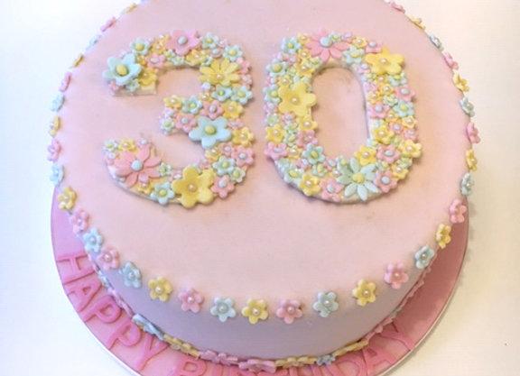 Age Birthday Cakes