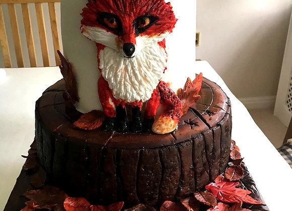 Birthday Character Cake - Fox