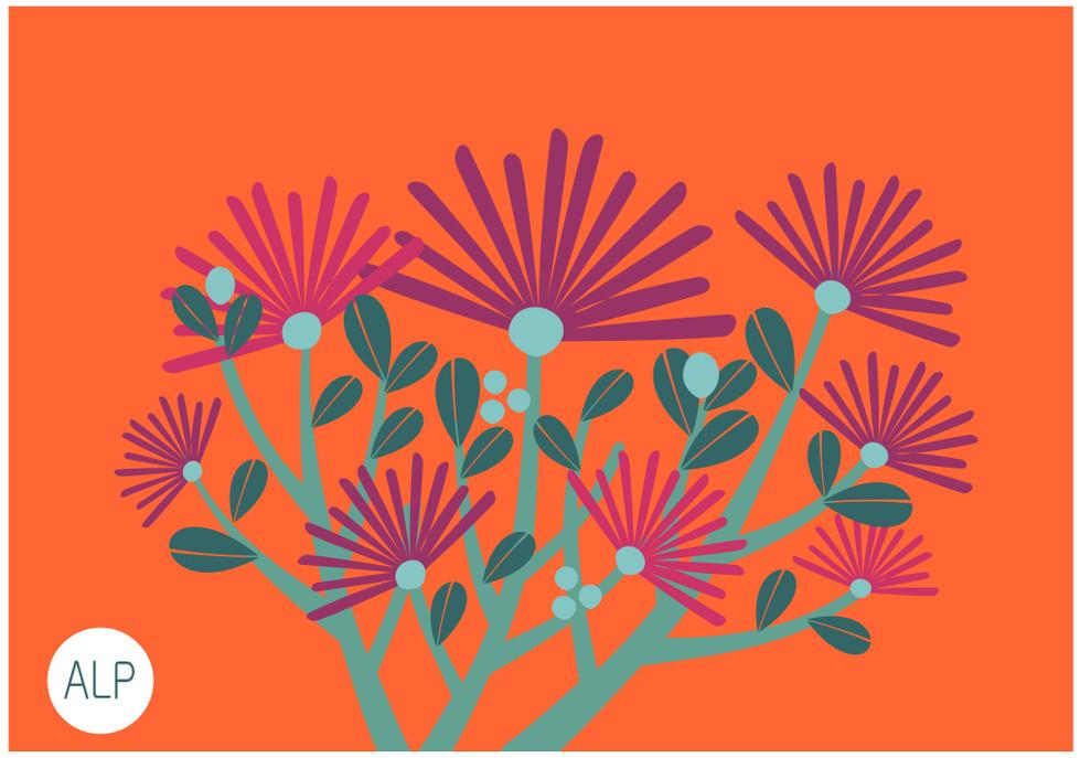 localizada flor espetinho
