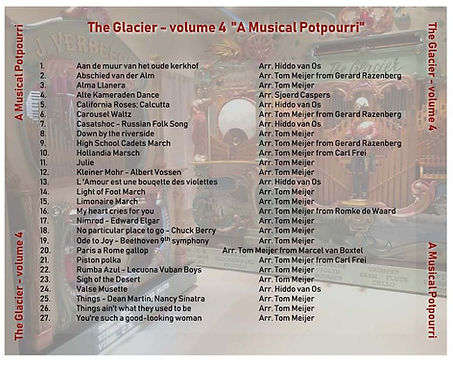 Glacier - volume 04 - A Musical Potpourr