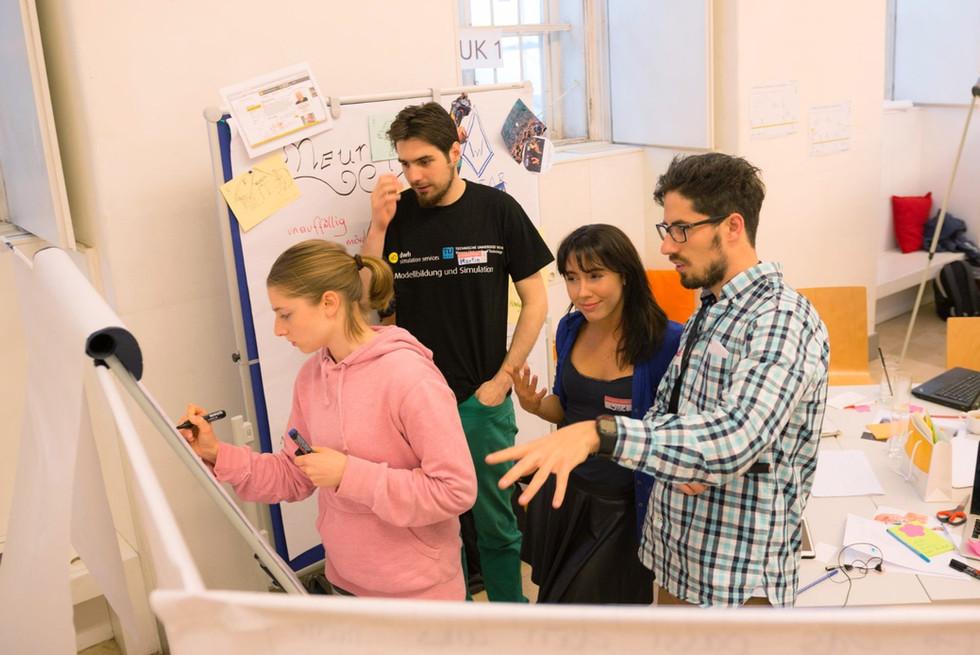 The Students of the TU Austria Innovation-Marathon
