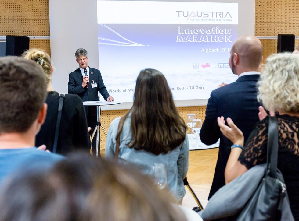 Kick-off of the TU Austria Innovation-Marathon 2017
