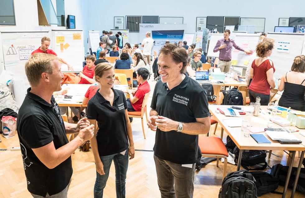 Innovation coaches, the Innovation-Marathon-Codex, innovation methods, innovation everywhere :-)