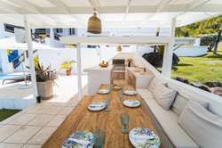 Bar and outdoor dining