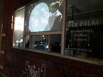 Screening on window PIX FILM Gallery