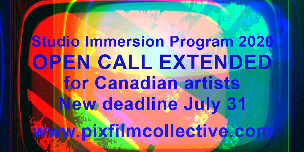 OPEN CALL EXTENDED for Canadian artists