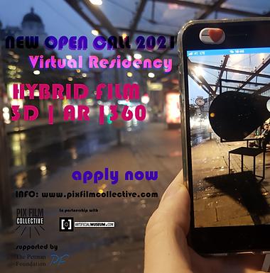 OPEN CALL VIRTUAL RESIDENCY 2021