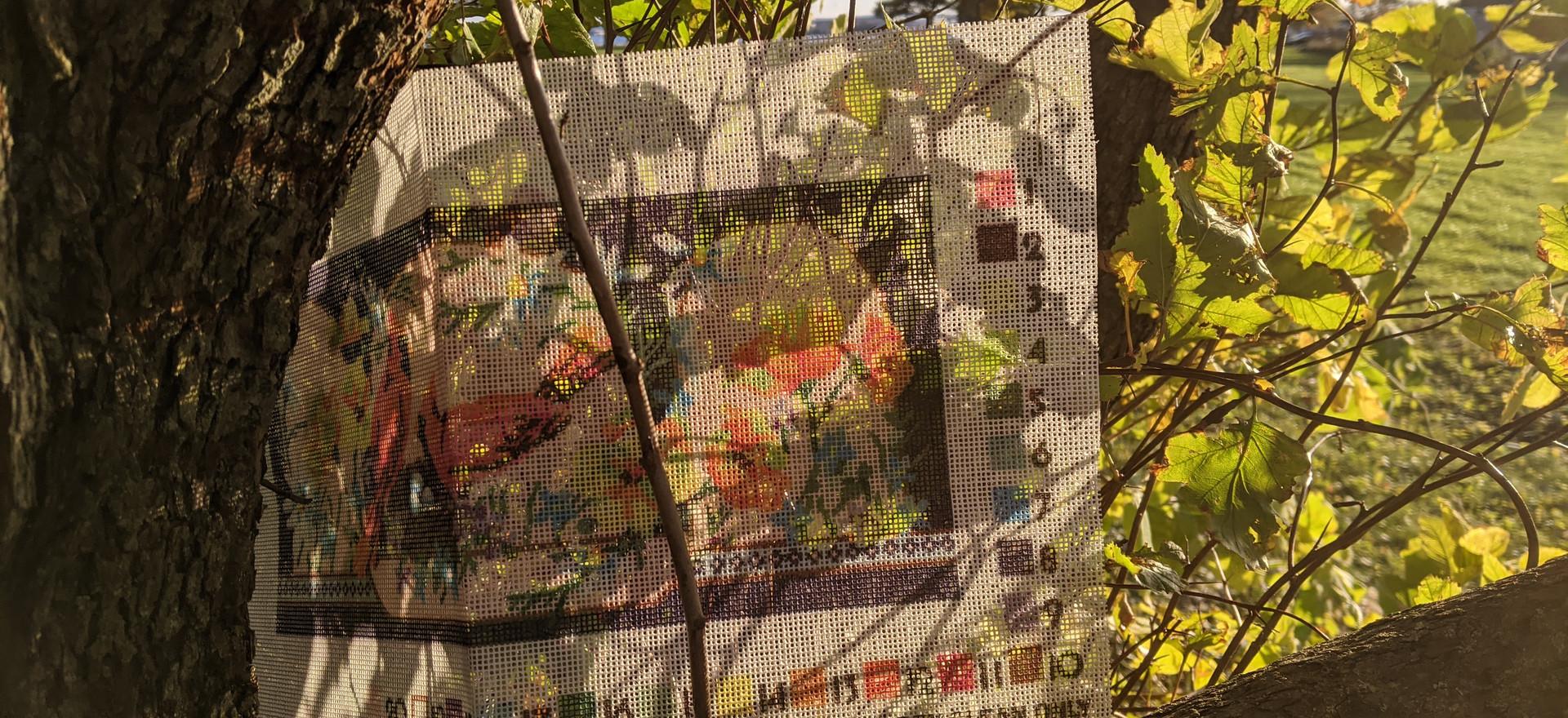 Stitching pattern