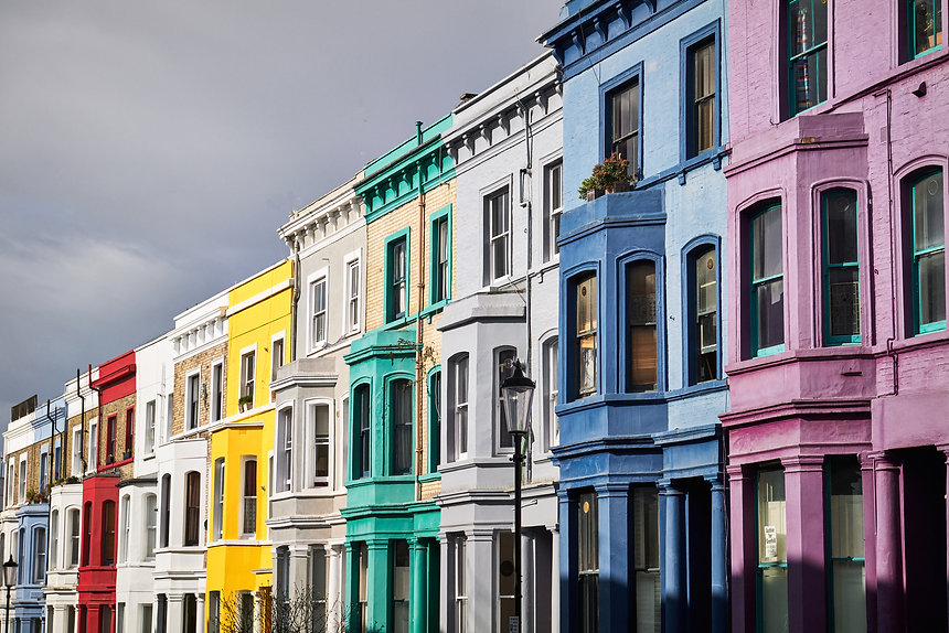 Notting Hill townhouses Rooms The Lost Poet townhouse accommodation 6 Portobello Road Notting Hill London