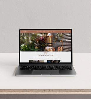 Alembics web design