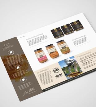 Hinterland honey brochure